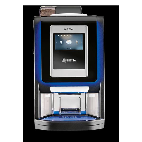 Macchina da caffè per Hotel con display touch screen: Krea Touch by Necta.