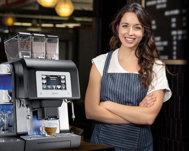 Bar caffetteria Necta Karisma