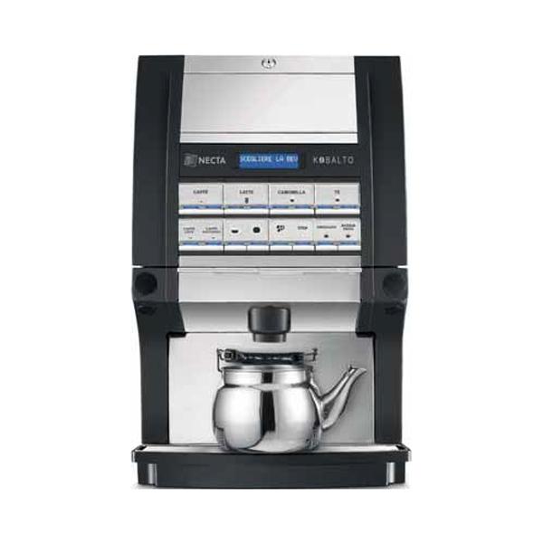 Necta, Kobalto Sanità, macchina per caffè, bevande calde e infusi
