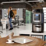 Necta Korinto Prime, ufficio, lounge, open space, pausa caffè
