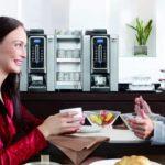 Necta Krea Instant, prima colazione hotel b&b scaldatazze