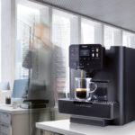 Area Cappuccino Saeco, macchina da caffè in ufficio