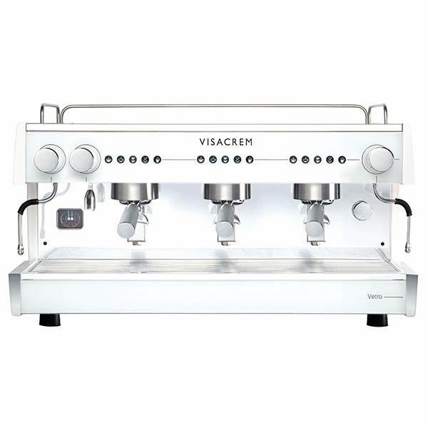 vetro visacrem macchina caffè professionale