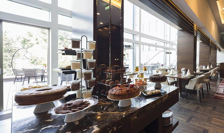 sala colazioni hotel esposizione centrale