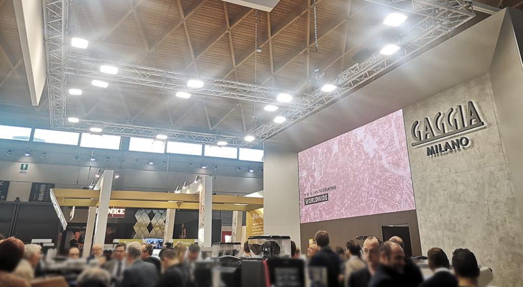 Stand Gaggia Milano al Sigep 2020