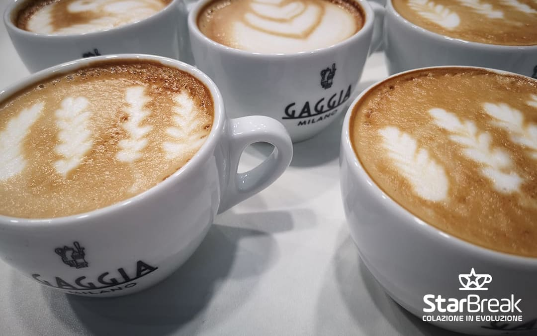 Cappuccino Gaggia Milano La Reale