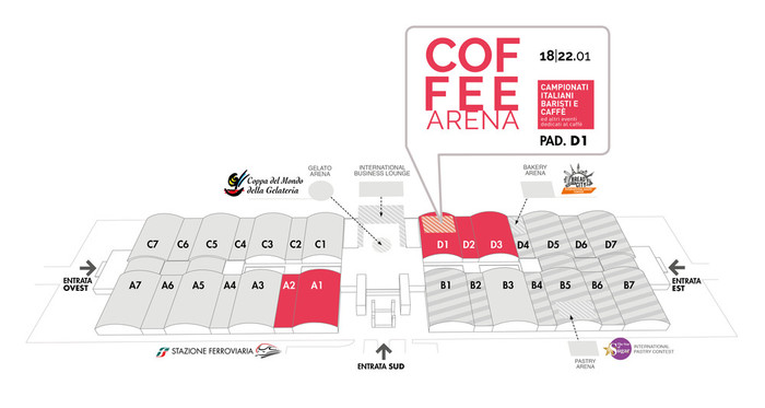 Mappa Coffee Arena, Sigep 2020