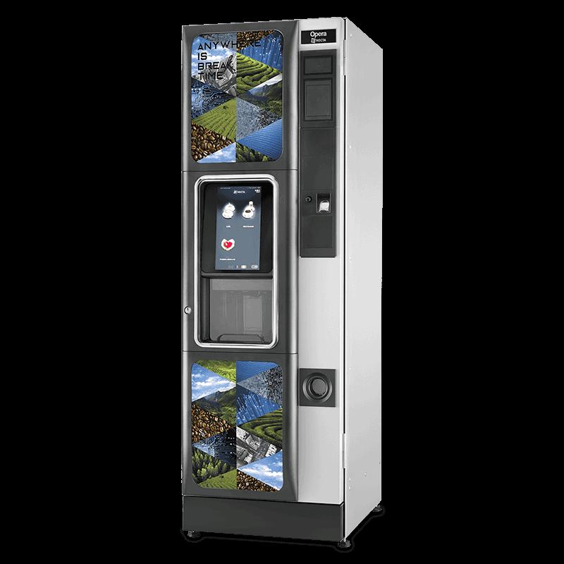 Distributore automatico caffè Necta, display touch Opera by Necta