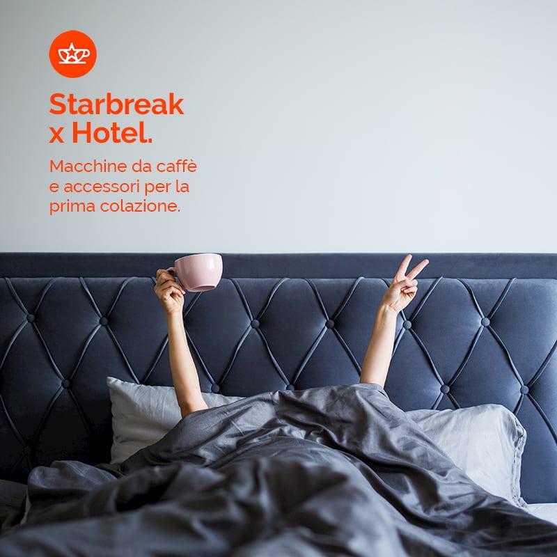 macchine caffè per hotel prima colazione starbreak