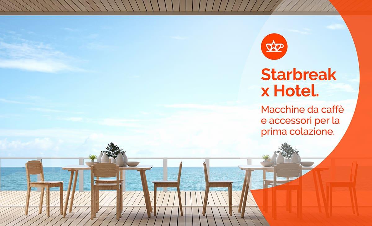 macchine per colazione hotel, Starbreak