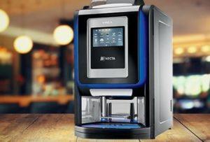 macchina da caffè in hotel krea touch necta