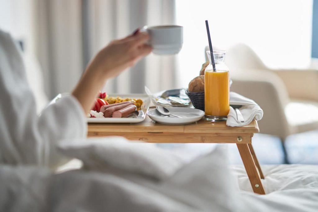 Prima colazione in Hotel di lusso a Torino