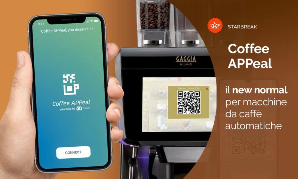 coffee appeal la coffee app per il caffè in sicurezza