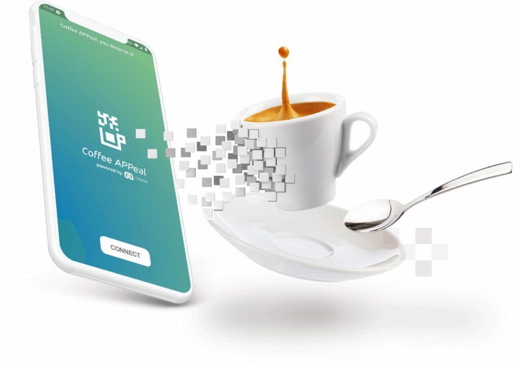come funziona coffee appeal la coffee app newis