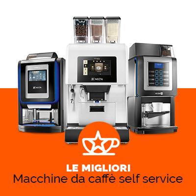 macchine da caffè professionali hotel