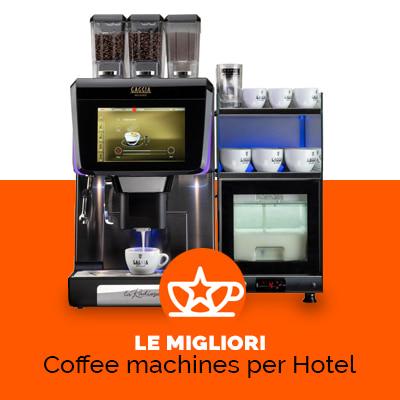 macchine da caffè self service hotel