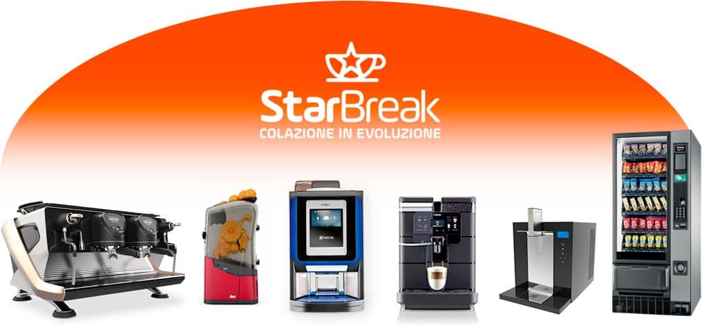 noleggio macchine caffè e accessori starbreak