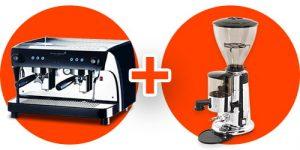 RUBY PRO (VISACREM) + GRINDER MXA (MACAP)